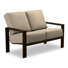 Larssen Cushion Collection Two-Seat Loveseat