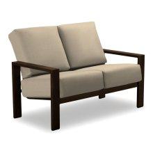 Larssen Cushion Collection Two-Seat Loveseat