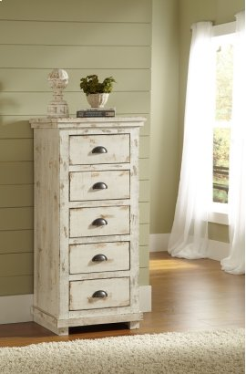 Lingerie Chest - Distressed White Finish