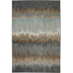 Cashel Abyss Blue Rectangle 6ft 6in X 9ft 6in
