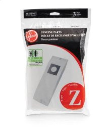 Type Z Allergen Bag - 3 pack