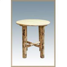 Montana Log Bistro Table