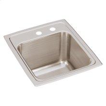 """Elkay Lustertone Classic Stainless Steel 15"""" x 17-1/2"""" x 10"""", Single Bowl Drop-in Sink"""