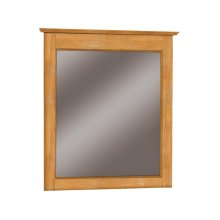 Lancaster Mirror. Solid wood panel sides & full extension drawer glides