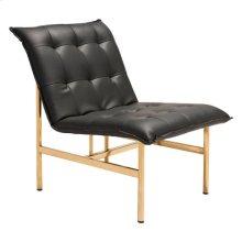 Slate Chair Black & Gold