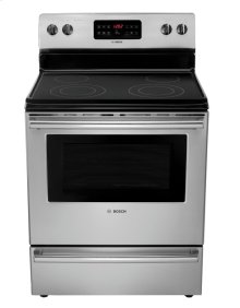 "30"" Electric Freestanding Range 300 Series - Stainless Steel HES3053U"