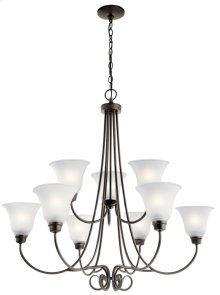 Bixler 9 Light Chandelier Olde Bronze®
