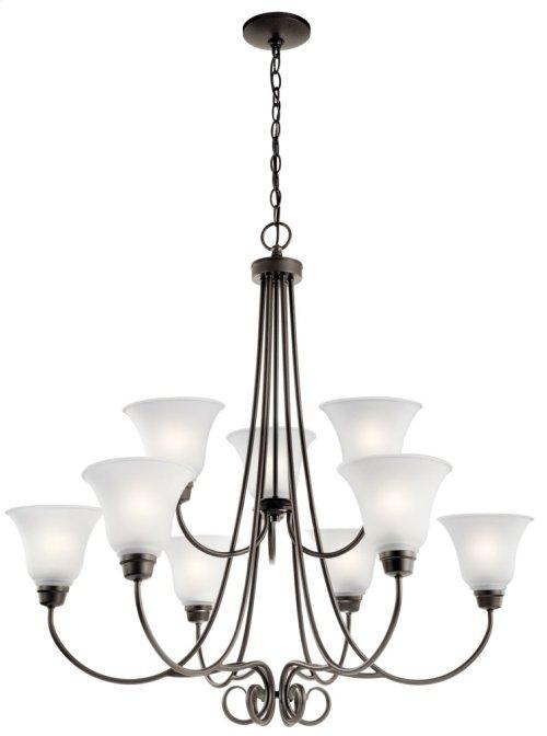 Bixler 9 Light Chandelier Olde Bronze®