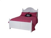 Cottage Princess Bed, 2 Positions, Wood Rails & Wooden Slats