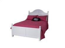 Cottage Princess Bed, 2 Positions, Wood Rails & Wooden Slats
