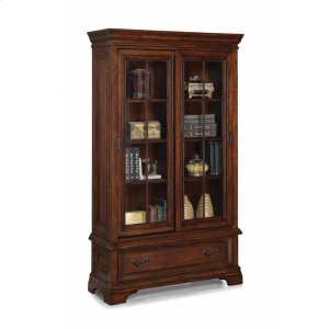 Flexsteel Woodlands Sliding Door Bookcase