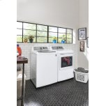 GE ®4.9 Cu. Ft. Capacity Washer With Stainless Steel Basket