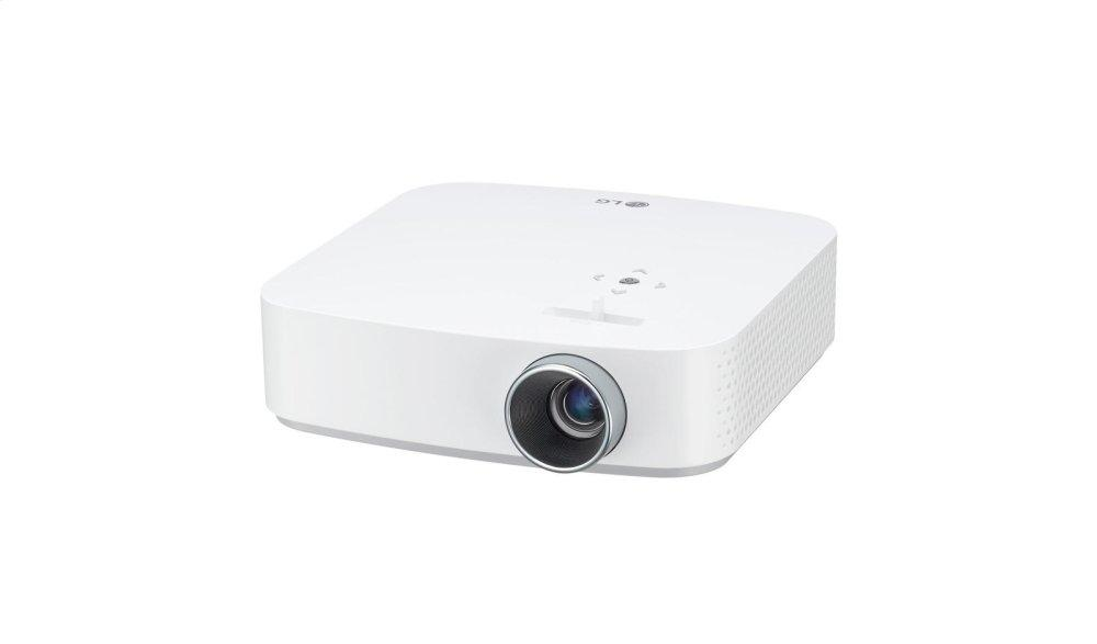 Full HD LED Smart Home Theater Projector with Built-In Battery