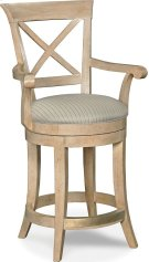 X Back Counter Stool Product Image