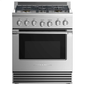 "Fisher & PaykelGas Range 30"", 5 Burners (LPG)"