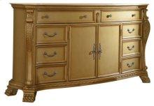 Lavish Gold Dresser - 74''L x 20''D x 40''H