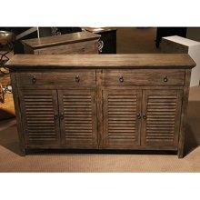 2 Drawer, 4 Door Cabinet