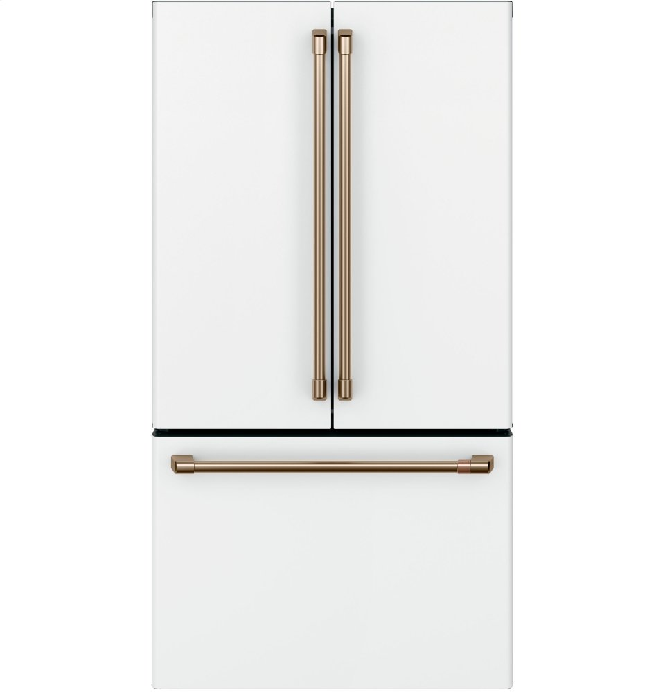 Cafe AppliancesEnergy Star &Reg; 23.1 Cu. Ft. Smart Counter-Depth French-Door Refrigerator