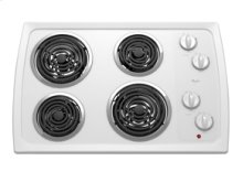 Whirlpool® 30-inch Electric Cooktop with Infinite Heat Controls