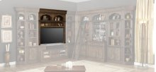 """60"""" Bookcase TV Hutch"""