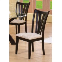 Shoemaker Deep Merlot Vertical Slat Dining Chair