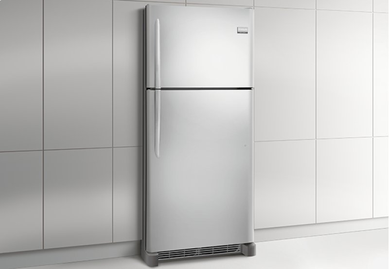 Frigidaire Gallery Custom Flex 20 4 Cu Ft Top Freezer Refrigerator