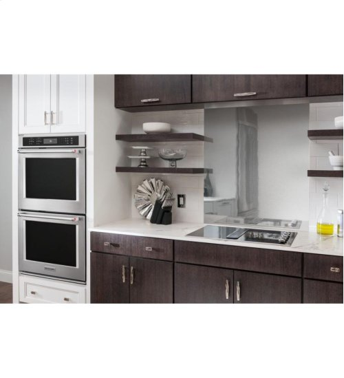 "KitchenAid® 30"" Double Wall Oven with Even-Heat™ True Convection - Stainless Steel **OPEN BOX**"