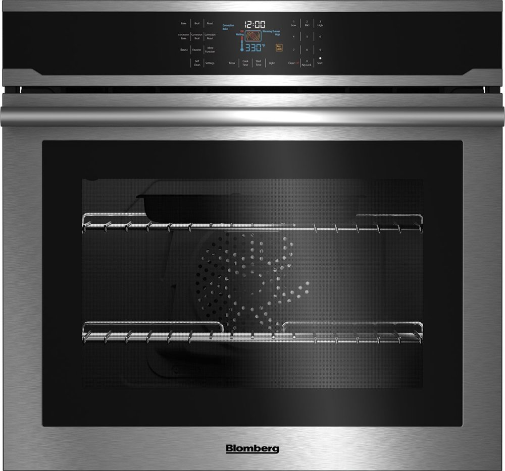 "30"" Single Wall Oven, self clean, cool touch glass, stainless