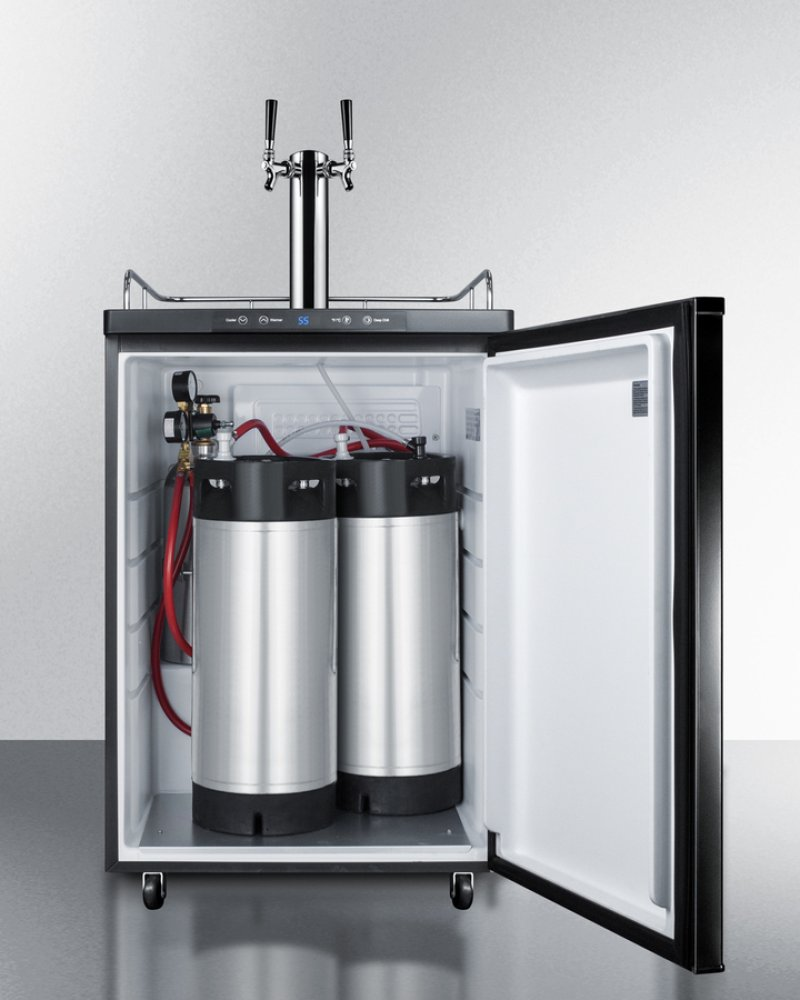 Beer tap systems for home - Additional Dual Tap System With Nitrogen Tank To Serve Cold Brew Flat Iced Coffee
