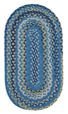 Garrison Provincial blue Braided Rugs