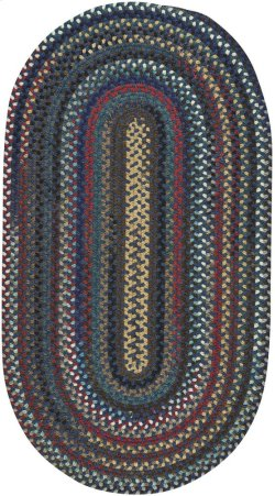Yorktowne Navy Braided Rugs (Custom)