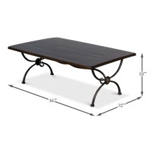 Ranch Cocktail Table