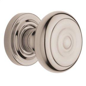 Polished Nickel with Lifetime Finish 5005 Estate Knob