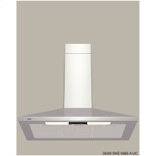 "300 Series Pyramid Canopy 36"" Wall Mount Chimney Hood"