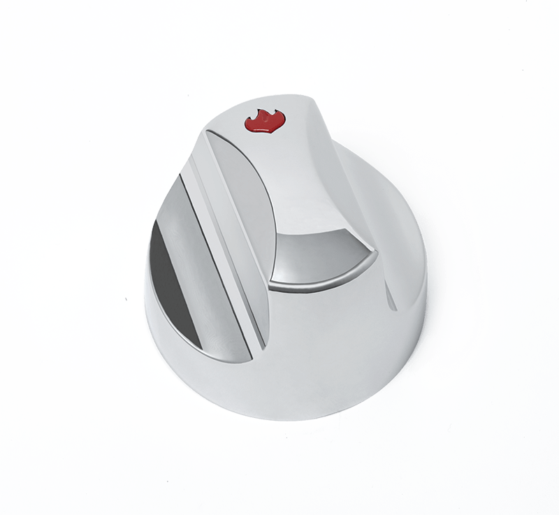 Napoleon BBQSmall Control Knob With A Red Flame For Rogue Series
