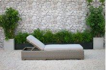 Renava Knox Outdoor Wicker Sunbed