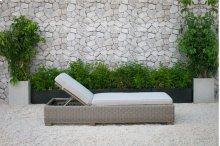 Renava Knox Outdoor Wicker Sunbed