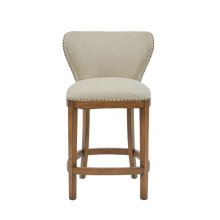 Farmhouse-Inspired Deconstructed Counter Stool