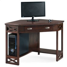 Chocolate Oak Corner Computer/Writing Desk #81430