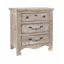 Nightstand - Chalk Finish