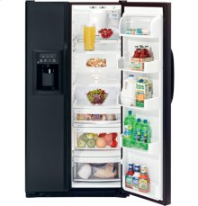 GE CustomStyle 22.7 Cu. Ft. Side-By-Side Refrigerator with Dispenser
