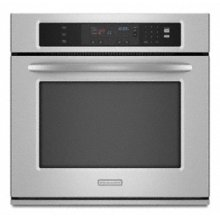 """Single Oven 27"""" Width 3.8 cu. ft. Capacity Thermal Oven with Two-Element Balanced Baking and Roasting Architect® Series II"""