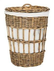 Maggy Storage Hamper With Liner - Honey