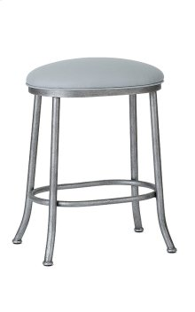 Canton B245H26XB Non Swivel Backless Bar Stool