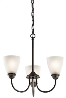 Jolie 3 Light Mini Chandelier Olde Bronze®
