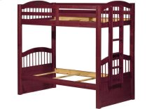 Triplet Twin/Twin Bunk Bed Mahogany