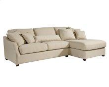 Linen Homestead Chaise Sofa