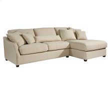 Linen Homestead Chaise Sofa