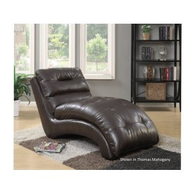 Daphne Collection - Mahogany Chaise