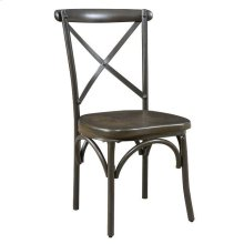 Hawthorne Industrial Chic Coffee Side Chair